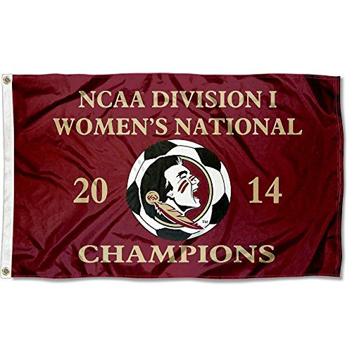 Florida State 2014 Women's Soccer Champs Flag by College Flags and Banners Co.