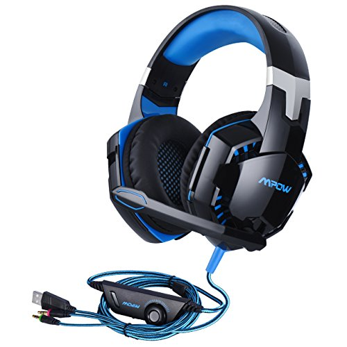Mpow Gaming Headset, Over Ear USB Wired PC Gami...