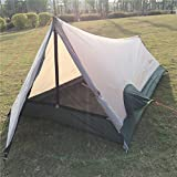 Top Lander Ultralight One Man Tent for Camping Backpacking Hiking 3 Season Waterproof Breathable Easy Set up Outdoor 1 Person Lightweight Bivy Tents