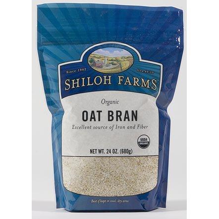 Organic Oat Bran - 6 x 24 Oz units