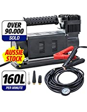 Portable Air Compressor 160L/min 4x4 Offroad Tyre Inflator Kings Thumper MKII