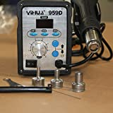HFS (R) Digital LED 959D Hot Air Soldering Rework Station Blower Heat Gun