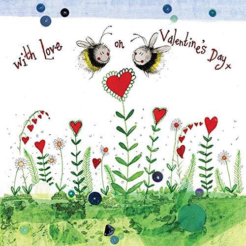 Alex Clark Bee My Valentine Card