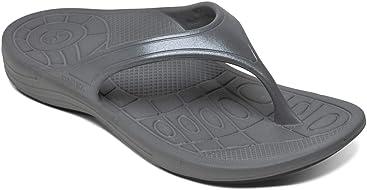 dd7165e06 Aetrex Fiji Flips Womens Orthotic Sandals