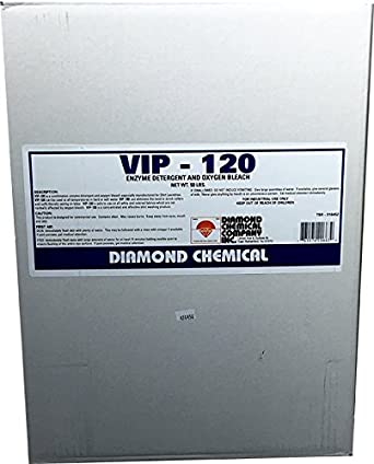 Amazon.com: vip-120 enzima detergente, 50 lb.: Industrial ...