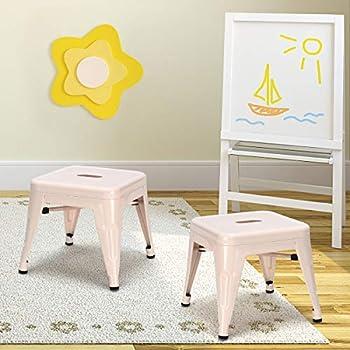 Amazon Com Ikea Mammut Childrens White Stool Home Amp Kitchen
