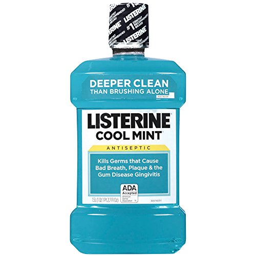 Cool Mint Listerine Antiseptic Mouthwash, 1.5 L