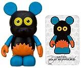 """Orange Gears by Dan Howard - Disney Vinylmation ~3"""" Urban Series #3 Designer Figure (Disney Theme Parks Exclusive)"""