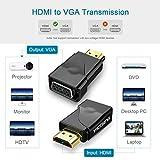 VicTsing HDMI to VGA Adapter Converter