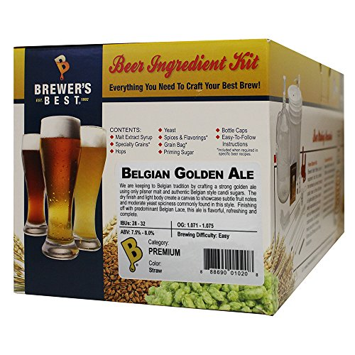 Belgian Style Ale (Brewer's Best Belgian Golden Ale)