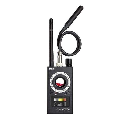 alikena Anti Spy Detector de RF Señal de Detector de Errores Inalámbrico para Cámara Oculta Lente