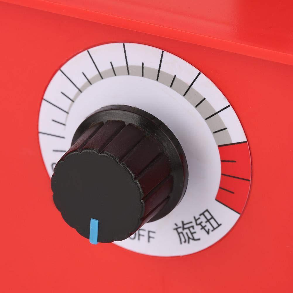 Spina UE 110v Temperatura variabile Macchina pirografica Strumenti pirografici per Artigianato in Legno Penna per pirografia HEEPDD Pirografo