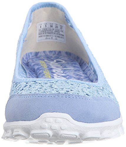 Skechers Ez Flex 2-flightly Damen Turnschuhe Light Blue Flighty