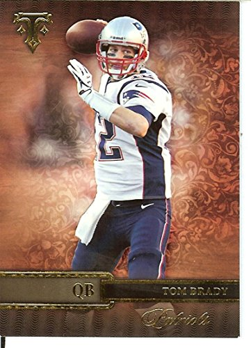 - Football NFL 2014 Triple Threads #36 Tom Brady Patriots