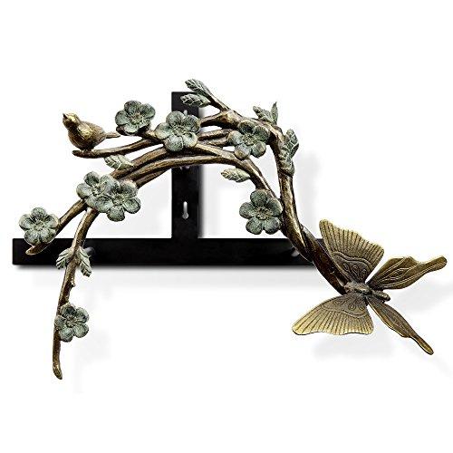 Viridian Bay Mimosa Ridge Collection Papillion Hose Holder (Butterfly Hose Holder)