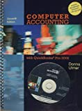 img - for Computer Accounting With Quickbooks Pro 2009 by Donna Ulmer (2009-03-24) book / textbook / text book