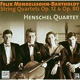 String Quartets Op.12 And Op.80 (Henschel Quartet)