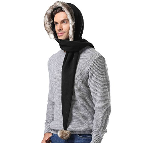 Miracu Winter Scarf Fleece Children