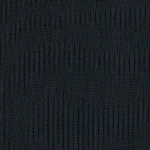 Rib Material Knit (BLACK Rib Knit Fabric Ribbing Fabric Sleeves Collar Gray Stretch Rib Fabric Ribbed Hacci Fabric by the Yard- 1 Yard)
