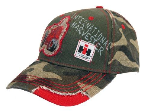 Camo Driver Hat (Toddler's International Harvester Appliqued & Distressed Camo Cap)