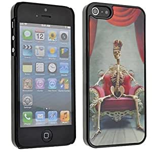 HC-Esqueleto 3D Trono duro caso para iPhone 5/5S