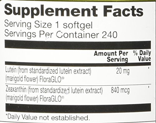 Vitacost Synergy Lutein 20 Milligram 240 Softgels Discount