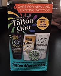 Customer reviews tattoo goo aftercare kit for Tattoo goo review