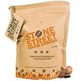 Stone Street Coffee Freshly Roasted Colombian Arabica Cinnamon/Nutmeg Creamy CHOCOLATE HAZELNUTGround Coffee, 1 lb offers