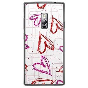 Loud Universe OnePlus 2 Love Valentine Printing Files Valentine 131 Printed Transparent Edge Case - Multi Color