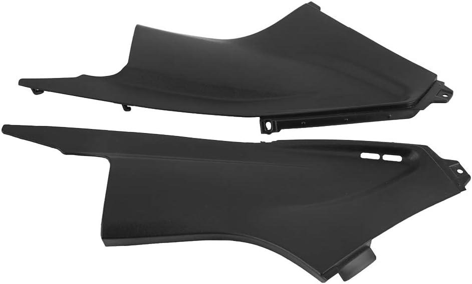 1 Paar schwarz Auto Staubschutzhaube Verkleidungsabdeckung Motorrad Staubschutzhaube Verkleidungseinsatz