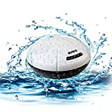 Portable Swimming Pool Float Bluetooth Speaker Wireless Waterproof stereo Splashproof Shockproof Dustproof for Outdoor, Bathroom,Boat, Car, Beach,Home,Shower-IPX7 Dual 5W Audio Drives Superior Sound