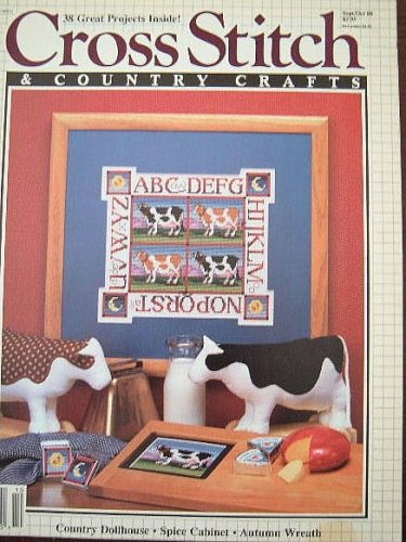 Cross Stitch & Country Crafts Magazine (Sept/Oct 1988)