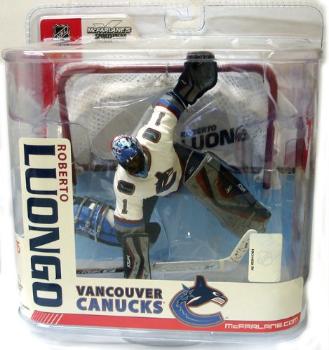 McFarlane: NHL Series 15 - Roberto Luongo 2 - Vancouver - 2 Nhl Figure Mcfarlane