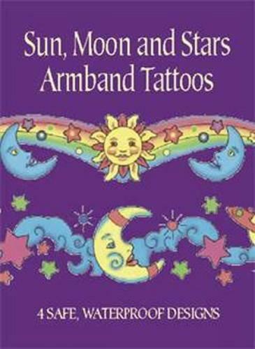 Sun, Moon and Stars Armband Tattoos (Dover Tattoos) by Anna Pomaska ()