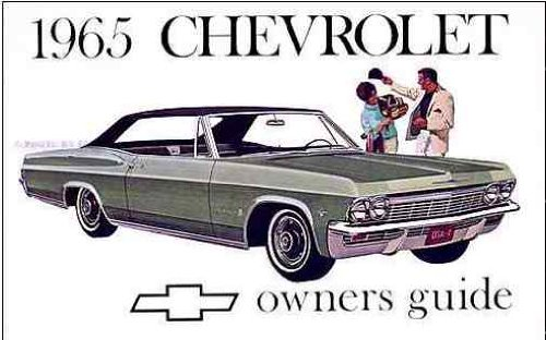 (1965 Chevrolet All Owners Manual)