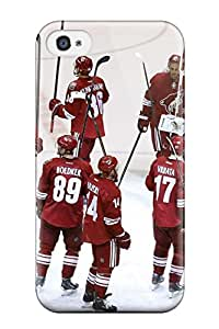 New Style phoenix coyotes hockey nhl (75) NHL Sports & Colleges fashionable iPhone 4/4s cases 2413278K111652190