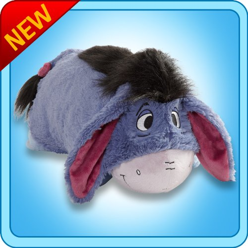 Disney Authentic Eeyore Pillow Pet - Eeyore from Winnie The Pooh Stuffed Plush Toy