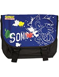 Sonic The Hedgehog Spray Messenger Bag