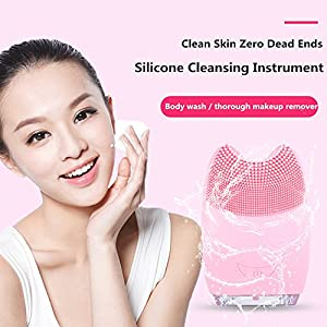 Waterproof Facial Cleansing Brush Bouncy Boxes Amazon