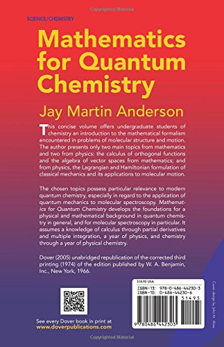 Buy mathematics for quantum chemistry dover books on chemistry buy mathematics for quantum chemistry dover books on chemistry book online at low prices in india mathematics for quantum chemistry dover books on fandeluxe Image collections