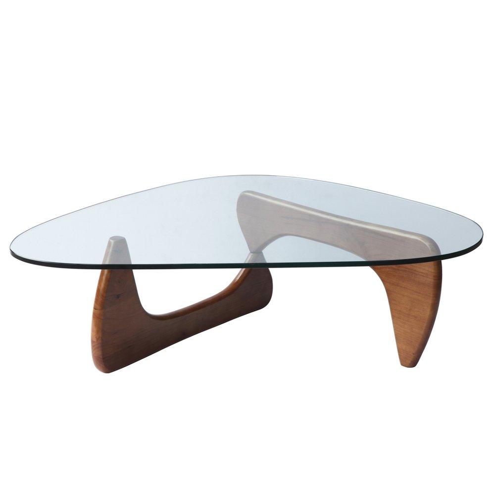 Amazon.com: Fine Mod Tribeca Coffee Table, Mid Walnut: Kitchen U0026 Dining