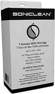 Soniclean Upright HEPA Filter Bags - 7 Genuine HEPA Filter Bags