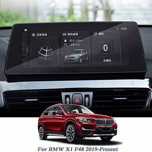 """XHULIWQ 10.25""""ディスプレイフィルムGPSナビゲーションスクリーンガラス保護フィルム、BMW X1 F48 2019 2020用"""