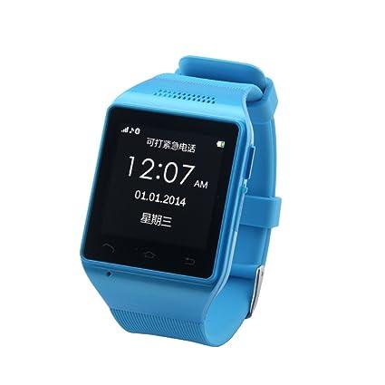 Amazon.com: LEMFO S18 Reloj Inteligente Teléfono 1.54 ...