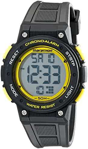 Timex Unisex TW5K84900 Marathon Digital Watch with Black Band