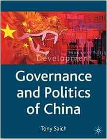 governance and politics of china tony saich pdf