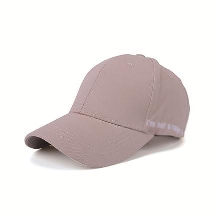 WWF Sombrero de Carta pequeña de Lado Gorra de béisbol Casual Casuales Sombreros de Hombres y