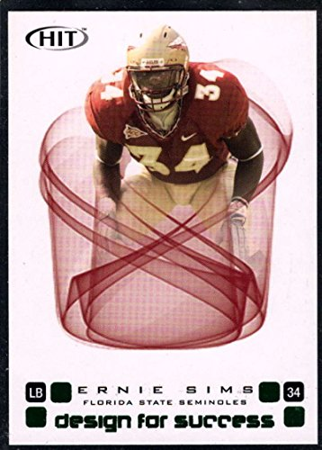 (Football NFL 2006 SAGE Hit Design for Success Green #D34 Ernie)