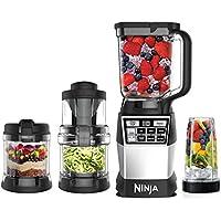 Ninja AMZ012BL 4-in-1 Kitchen System (Blender, Processor, Auto-Spiralizer)