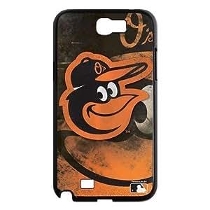 Top Designer Samsung Case MLB Baltimore Orioles Retro Vintage Style for Samsung Galaxy Note 2 N7100 Case Cover